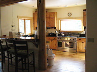 Summit Builders LLC | Methow Valley Construction | Remodels & Renovations | 'Before' Photo